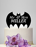 Cake Topper Plastic Wedding Wedding Poly Bag