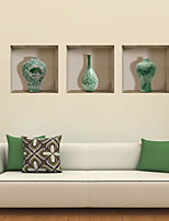 Formas Pegatinas de pared Calcomanías 3D para Pared Calcomanías Decorativas de Pared Material Decoración hogareña Vinilos decorativos