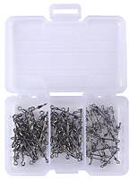 90 pcs Fishing Accessories g/Ounce mm inch,Stainless Jigging Sea Fishing Bait Casting Spinning Jigging Fishing Freshwater Fishing Other