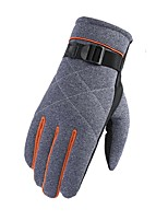 Sports Gloves Unisex Cycling Gloves Autumn/Fall Winter Bike Gloves Wearable Protective Full-finger Gloves Cloth Nylon Cycling Gloves/Bike