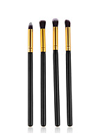 4PCS Makeup Brush Set Synthetic Hair