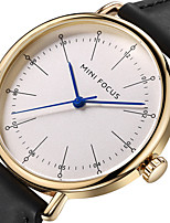 Men's Sport Watch Fashion Watch Wrist watch Unique Creative Watch Casual Watch Japanese Quartz Genuine Leather Band Charm Unique Creative