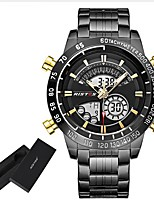 Men's Dress Watch Fashion Watch Casual Watch Japanese Quartz LED Calendar Chronograph Water Resistant / Water Proof Large Dial Punk