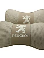 Settore automobilistico poggiatesta Per Peugeot Poggiatesta per auto Pelle