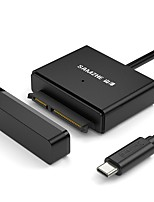 USB 2.0 Typ C Adapterkabel, USB 2.0 Typ C to SATA II Adapterkabel Male - Male 0,5m (1.5ft) 5.0 Gbps