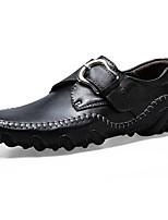 Для мужчин обувь Полиуретан Осень Зима Удобная обувь Кеды На липучках Назначение Повседневные Черный Желтый Коричневый