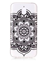 For Case Cover IMD Transparent Pattern Back Cover Case Mandala Soft TPU for Samsung Galaxy J7 (2016) J7 (2017) J5 (2016) J5 (2017) J3 J3