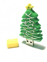 64GB Christmas USB Flash Drive Cartoon Creative Christmas Tree Christmas Gift USB 2.0