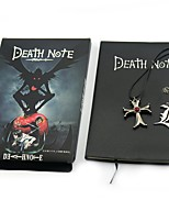 Monogramma Ispirato da Death Note Yagami Raito Anime Accessori Cosplay Collane Altri accessori 100% cellulosa vergine Metallico