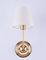 40 E12/E14 Tradizionale/Classico Bronzo lucidato caratteristica for Stile Mini,Luce verso l'alto Luce a muro
