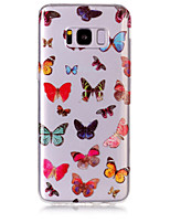 Case For Samsung Galaxy S8 Plus S8 Phone Case TPU Material Butterfly Pattern HD Phone Case S7 edge S7 S6 Edge S6 S5