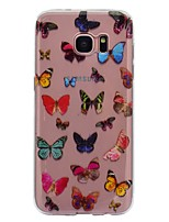 Case For Samsung Galaxy S8 Plus S8 IMD Transparent Pattern Back Cover Butterfly Soft TPU for S8 S8 Plus S7 edge S7 S6 edge S6 S5