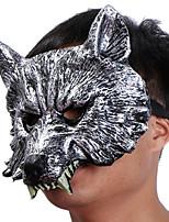 halloween creepy gomma animale animale lupo manzo maschera testa maschera maschera maschera cosplay maschera partito costume prop