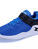 Boys' Athletic Shoes Comfort Light Soles Spring Fall Breathable Mesh Running Shoes Athletic Magic Tape Flat Heel Royal Blue Red Gray Black