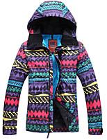 Ski, Snowboard Wear Ski/Snowboard Jackets Women's Thermal / Warm Winter Cotton Snowsports