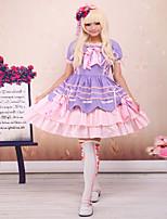 Einteilig/Kleid Gothik Niedlich Klassische/Traditionelle Lolita Punk Prinzessin Vintage Inspirationen Elegant Viktorianisch Rokoko Cosplay
