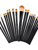 20pcs Makeup Brush Set Blush Brush Eyeshadow Brush Brow Brush Eyeliner Brush Eyelash Brush Fan Brush Powder Brush Foundation Brush Nylon