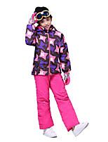 Set di vestiti Terylene Abbigliamento da neve Abbigliamento invernale Sci Campeggio e hiking Sci alpino Snowboard Vestiti invernali