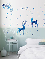 Animal Pegatinas de pared Calcomanías de Aviones para Pared Calcomanías Decorativas de Pared,Vinilo Material Decoración hogareña Vinilos