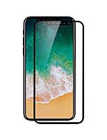 Hartglas Displayschutzfolie für Apple iPhone X Vorderer & hinterer Bildschirmschutz High Definition (HD) 9H Härtegrad