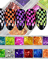 Glitter Accessories Sequins 3-D Flash DIY Supplies Nail Salon Tool Hand Rests
