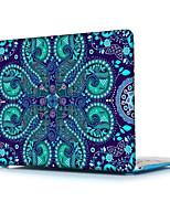 Недорогие -MacBook Кейс для MacBook Air, 13 дюймов MacBook Air, 11 дюймов MacBook Pro, 13 дюймов с дисплеем Retina Мандала Термопластик материал