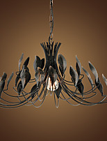 Creative Tree Right Droplight American Wrought Iron Net Cafe Restaurant Clothing Store Bar Industry Wind Restoring Ancient Ways Decorative Chandelier