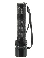 LED Flashlights / Torch LED 500 lm 1 Mode - Travel Size High Quality for Camping/Hiking/Caving Everyday Use No