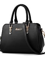 Women Bags Winter All Seasons PU Shoulder Bag Zipper for Casual Office & Career Black Blushing Pink Gray Wine Khaki