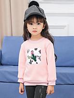 Girls' Patchwork Blouse,Rayon Spring Fall Long Sleeve Regular