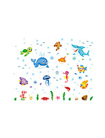 Animals Fashion Landscape Wall Stickers Plane Wall Stickers Decorative Wall Stickers,Plastic Material Home Decoration Wall Decal