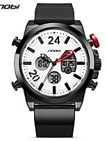 SINOBI Men's Sport Watch Digital Watch Casual Watch Japanese Digital LED Calendar Water Resistant / Water Proof Dual Time Zones