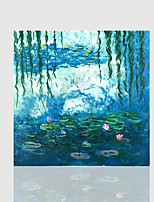 Hand-Painted Still Life Square,Classic One Panel Canvas Oil Painting For Home Decoration