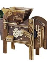 Music Box Windmill Toy Cars Toys Novelty Windmill Plastics Pieces Unisex Gift