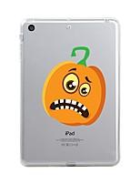 Pour iPad (2017) Etuis coque Transparente Motif Coque Arrière Coque Transparente Halloween Flexible PUT pour Apple iPad (2017) iPad Pro