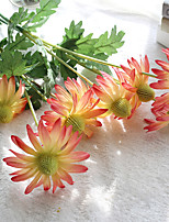 1 Piece 1 Branch Polyester Daisies Tabletop Flower Artificial Flowers
