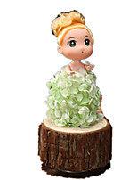 Music Box Toys Cylindrical Plastics Wood 1 Pieces Not Specified Birthday Valentine's Day Gift