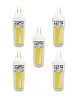 5 pcs 3W G4 LED Bi-pin Lights T 2 leds COB Warm White White 240lm 3000-3500/6000-6500K AC 220-240V