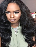 Big Discout ! Elegant Brazilian Human Hair Wigs Glueless Lace Front Wigs With Baby Hair Body Wave