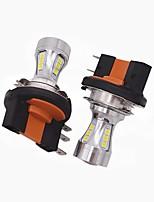 2x Mini-Design super helle h15 führte Scheinwerfer Glühlampe h15 hohe Abblendlicht / führte drl Funktion passend für vw audi bmw ford