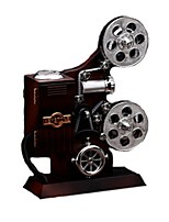 Music Box Toys Projector Wood Pieces Unisex Gift