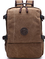 Men Bags All Seasons Canvas Backpack Zipper for Casual Outdoor Blue Black Coffee Khaki