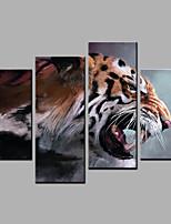 Impression sur Toile Quatre Panneaux Toile Toute forme Imprimé Décoration murale For Décoration d'intérieur
