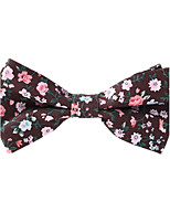 Men's Rayon Cotton Blend Bow Tie,Neckwear Print All Seasons