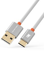 USB 2.0 Connect Cable, USB 2.0 to USB 2.0 Type C Connect Cable Male - Male 0.5m(1.5Ft)