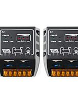 Interruttore automatico cmp12 del regolatore di carica solare 12v 24v di 2pcs 10a