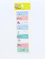1 PC Owl Series Self-Stick Note Set(Random Color)