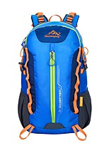 Unisex Bags All Seasons Nylon Sports & Leisure Bag Zipper for Sports Outdoor Climbing Blue Green Black Orange