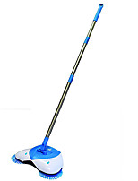 Lightweight Cordless Spinning Broom for Sweeping Hard Surfaces like Wood Tile and Laminate
