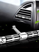Car Air Outlet Grille Perfume Stainless Steel Automotive Air Purifier